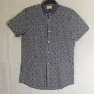 Tops - Civil Society Short Sleeved Button Up.